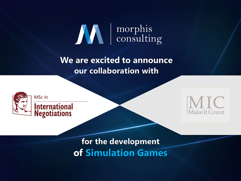 Morphis Consulting is pleased to announce new collaboation with Make It Count and MSc in International Negotiations of theAthens University of Economics and Business