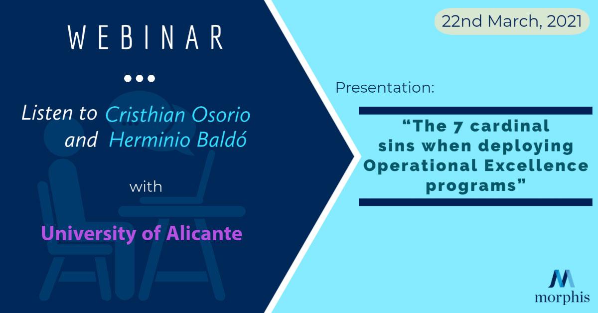 Listen to Cristhian Osorio and Herminio Baldó speak at the webinar organized by University of Alicante in March 2021.
