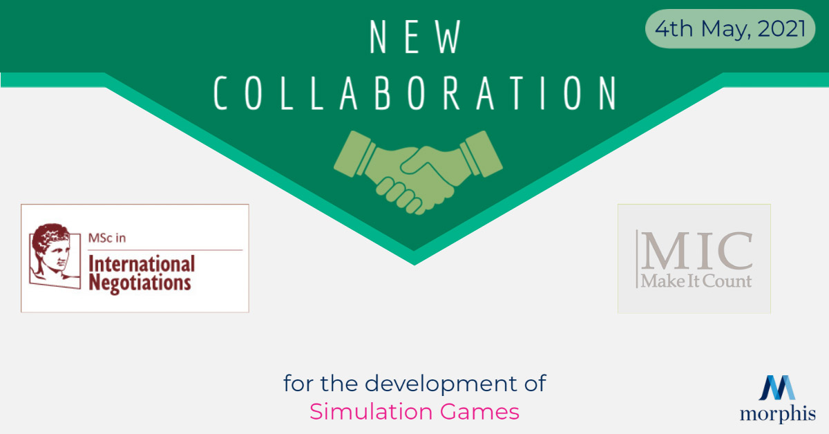 Morphis Tsalikidis is pleased to announce a new collaboration between Morphis Consulting, Make It Count and MSc in International Negotiations of the Athens University of Economics and Business