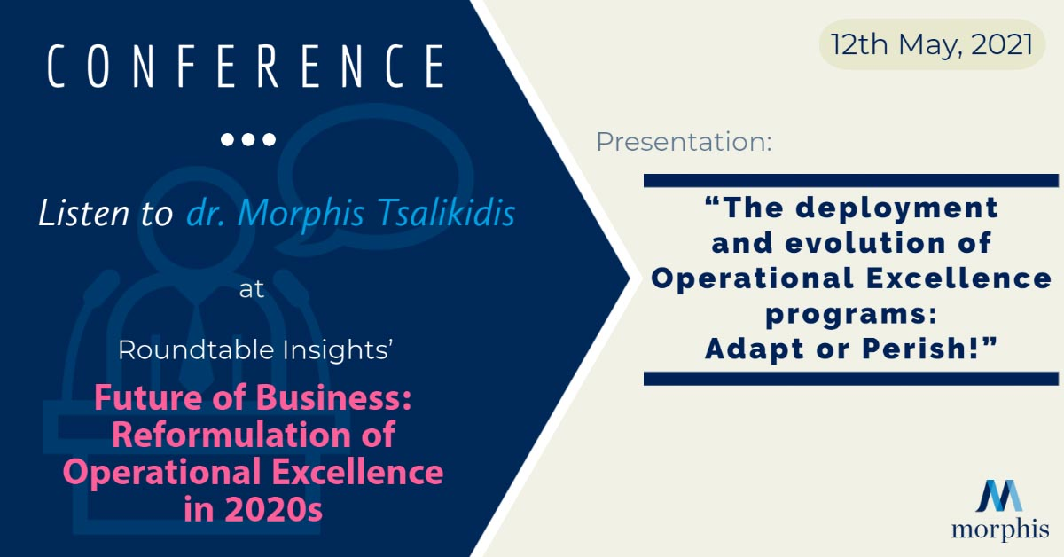 Morphis Tsalikidis speaking at Roundtable insights virtual conference, 2021