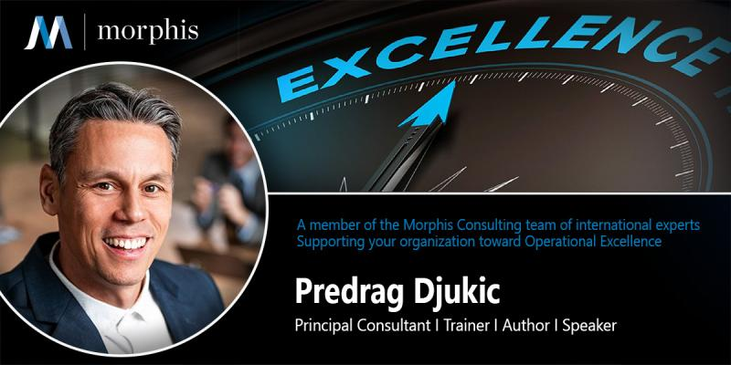 Predrag Djukic joins Morphis Consulting as Principal Consultant & Trainer