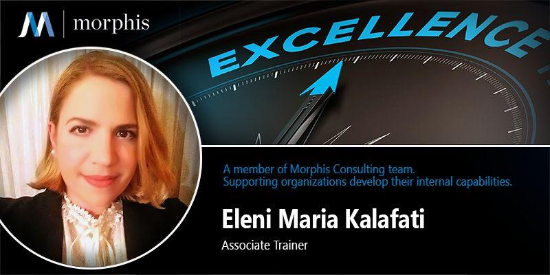Eleni Maria Kalafati joins Morphis Consulting as Associate Trainer