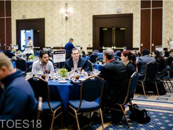 Morphis Tsalikidis speaking at BTOES Business Transformation and Operational Excellence Summit in Orlando, Florida