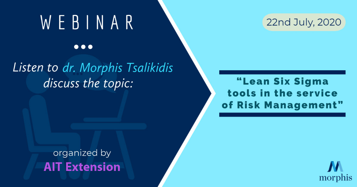 Listen to dr. Morphis Tsalikidis speak at the webinar organized by AIT Extension from Thailand