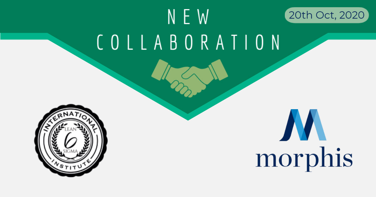 Morphis Consulting is pleased to announce a new strategic partnership with the International Lean Six Sigma Institute