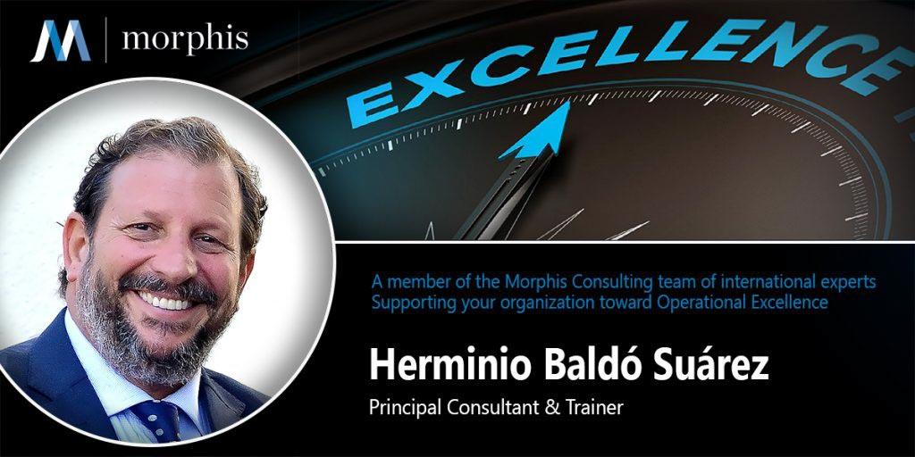 Herminio Baldó joins Morphis Consulting as Principal Consultant & Trainer