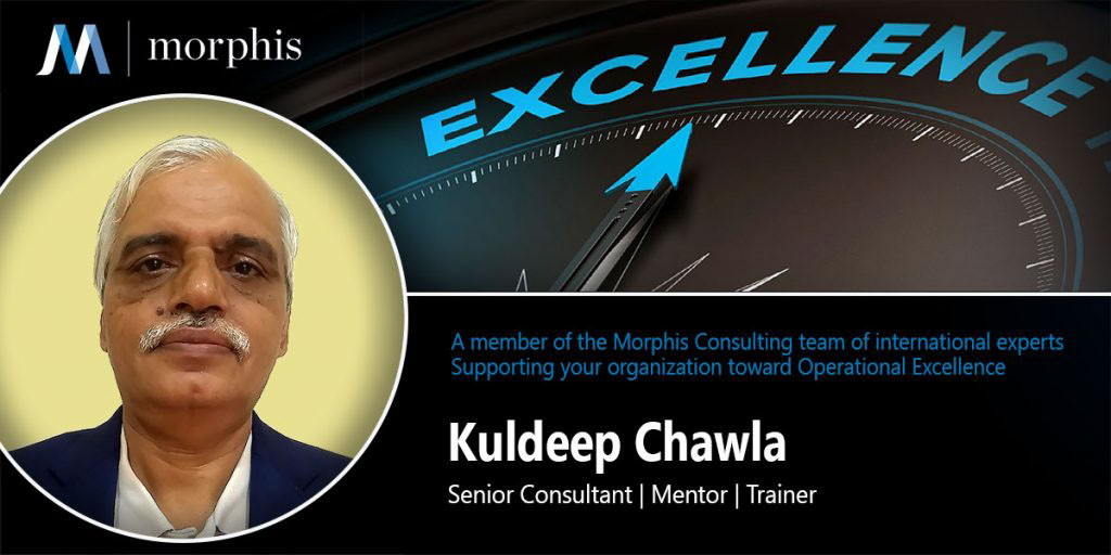 Kuldeep Chawla joins Morphis Consulting as Senior Consultant