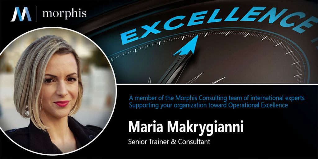 Maria Makrygianni joins Morphis Consulting as Senior Trainer and Consultant